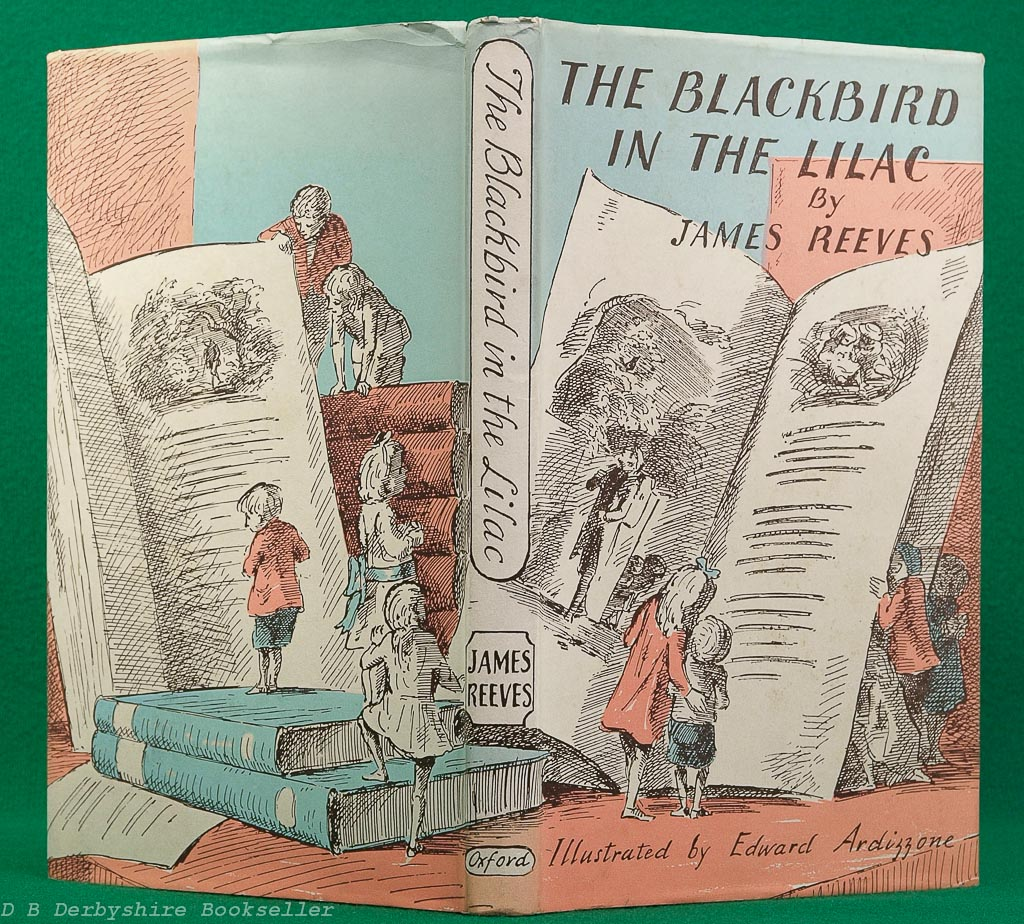 The Blackbird in the Lilac | James Reeves | Oxford, 1952 | illustrated by Edward Ardizzone
