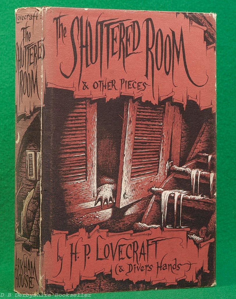 The Shuttered Room | H. P. Lovecraft | Arkham House, 1959