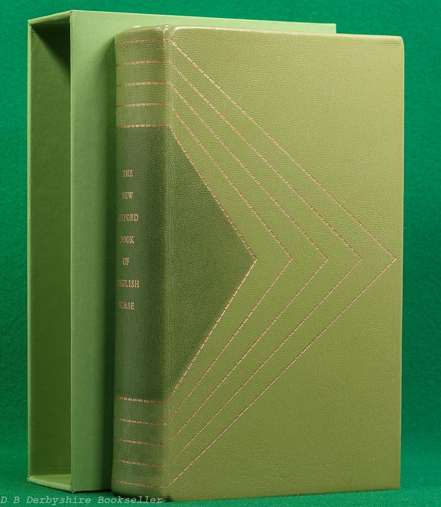 Oxford English Verse | Folio Society Special Publication | Leather Binding