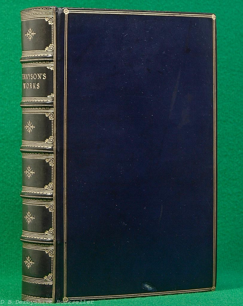 The Works of Tennyson | Macmillan, 1920 | Leather Binding