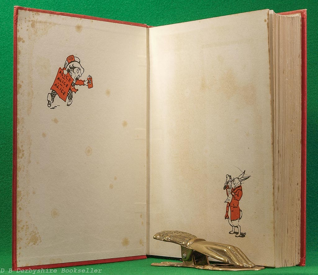 Alice's Adventures in Wonderland | Lewis Carroll | Boots, [1932] | illustrated by Gwynedd M. Hudson