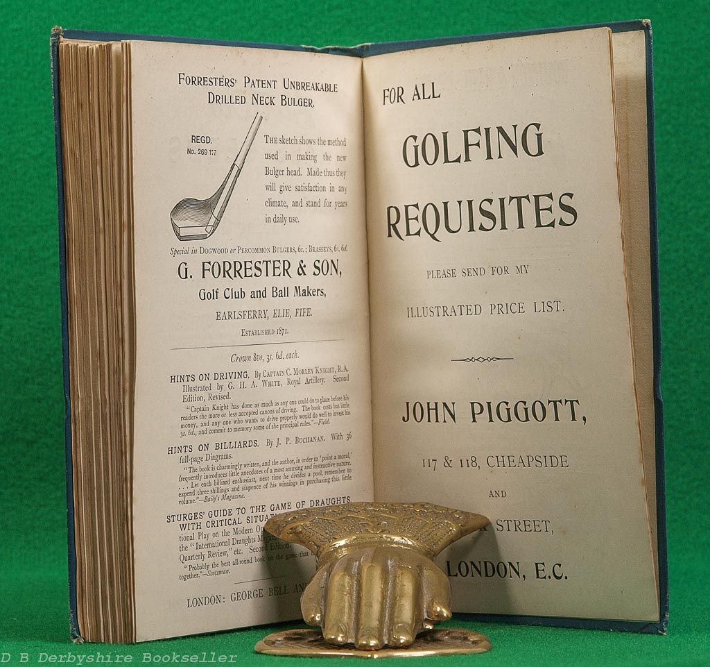 Golf in Theory and Practice | H. S. C. Everard | George Bell, reprint 1901