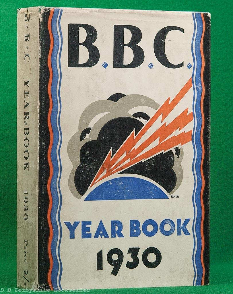 BBC Year-Book 1930 | Irene Fawkes dustwrapper