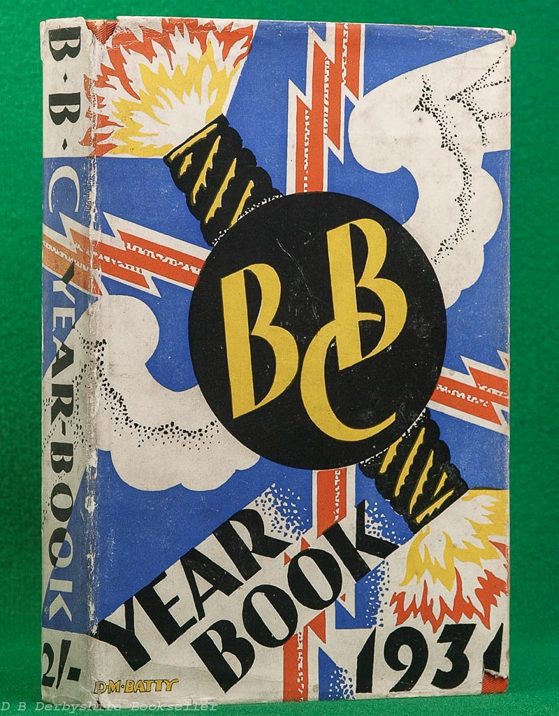 BBC Year-Book 1931 | The British Broadcasting Corporation, 1931 | dustwrapper by D. M. Batty