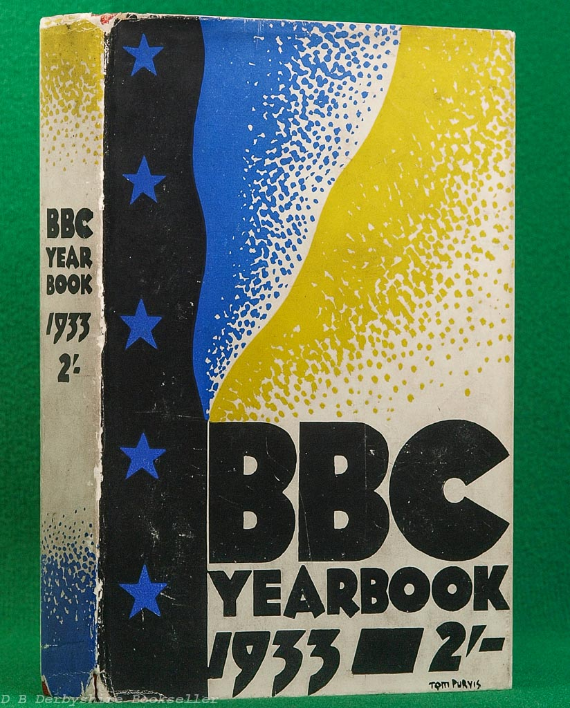 BBC Year-Book 1933 | Tom Purvis dustwrapper