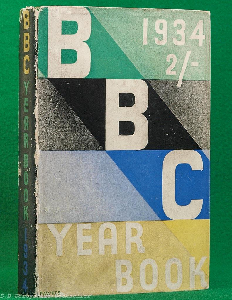 BBC Year-Book 1934 | Irene Fawkes dustwrapper