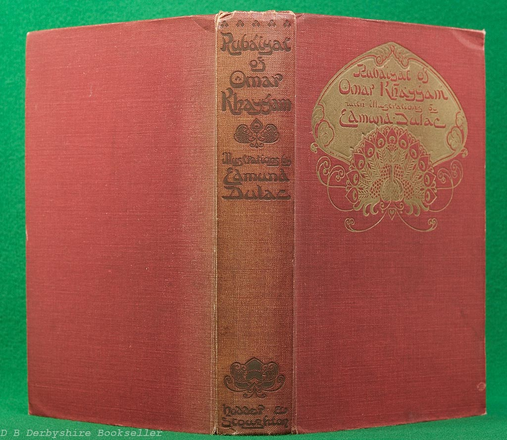 Rubaiyat of Omar Khayyam | Hodder and Stoughton, circa 1919 | illustrated by Edmund Dulac | 12 plates