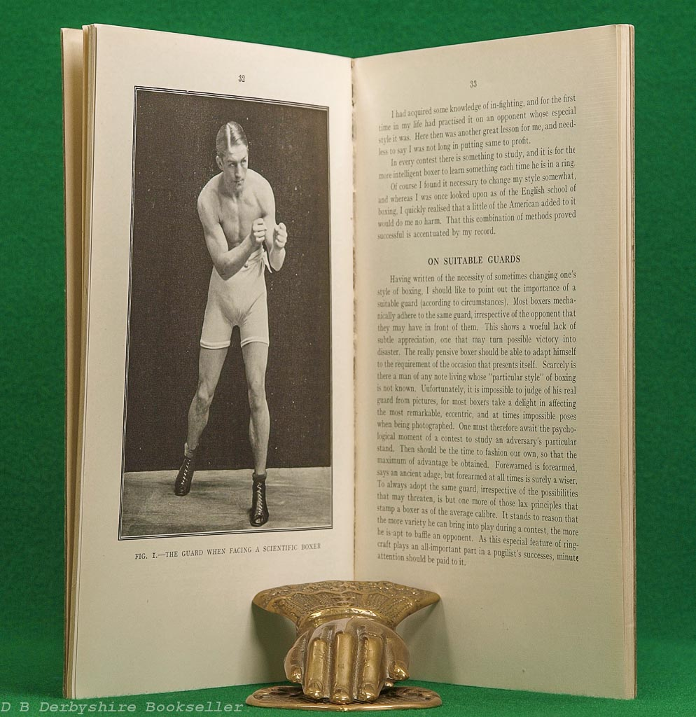 My Methods or Boxing as a Fine Art   Georges Carpentier   Athletic Publications, 3rd edition (circa 1920s)