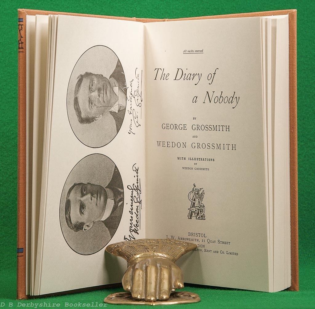 The Diary of a Nobody | J. W. Arrowsmith, 1992 | Centenary Facsimile Limited Edition of 500 Copies