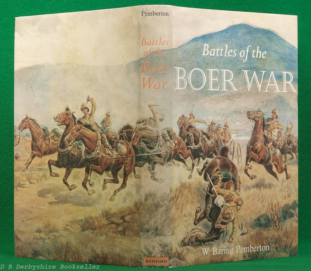 Battles of the Boer War by W. Baring Pemberton (B. T. Batsford, 1st edition 1964) | British Battles