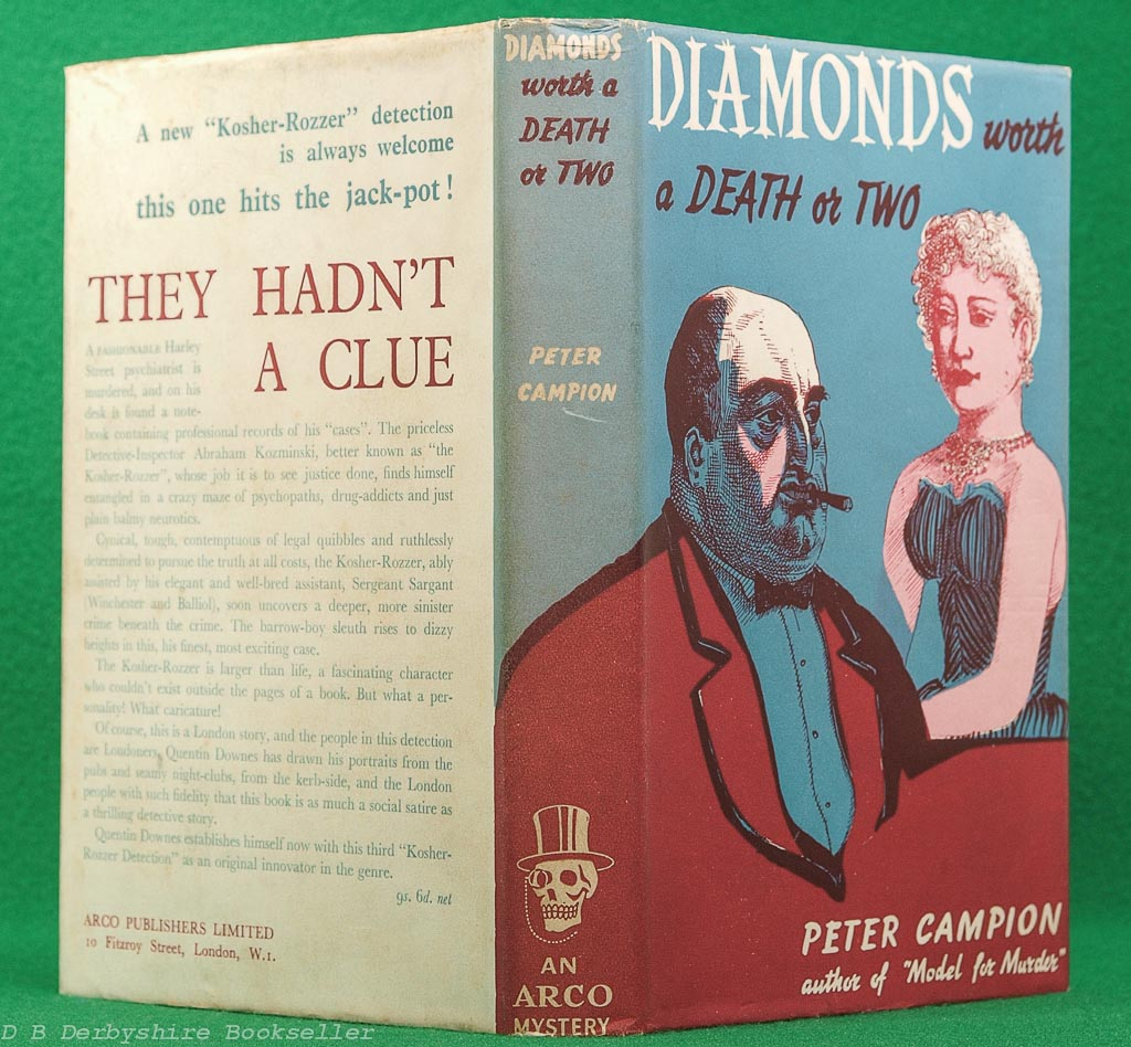 Diamonds Worth a Death or Two | Peter Campion | Arco, 1st edition 1955