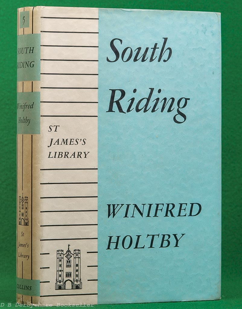 South Riding by Winifred Holtby (Collins, 1950)