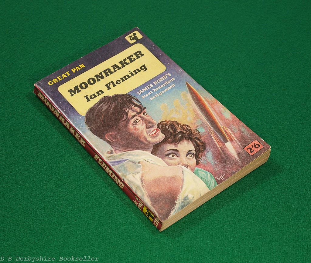 Moonraker | Ian Fleming | Pan Books, 1960 | Great Pan