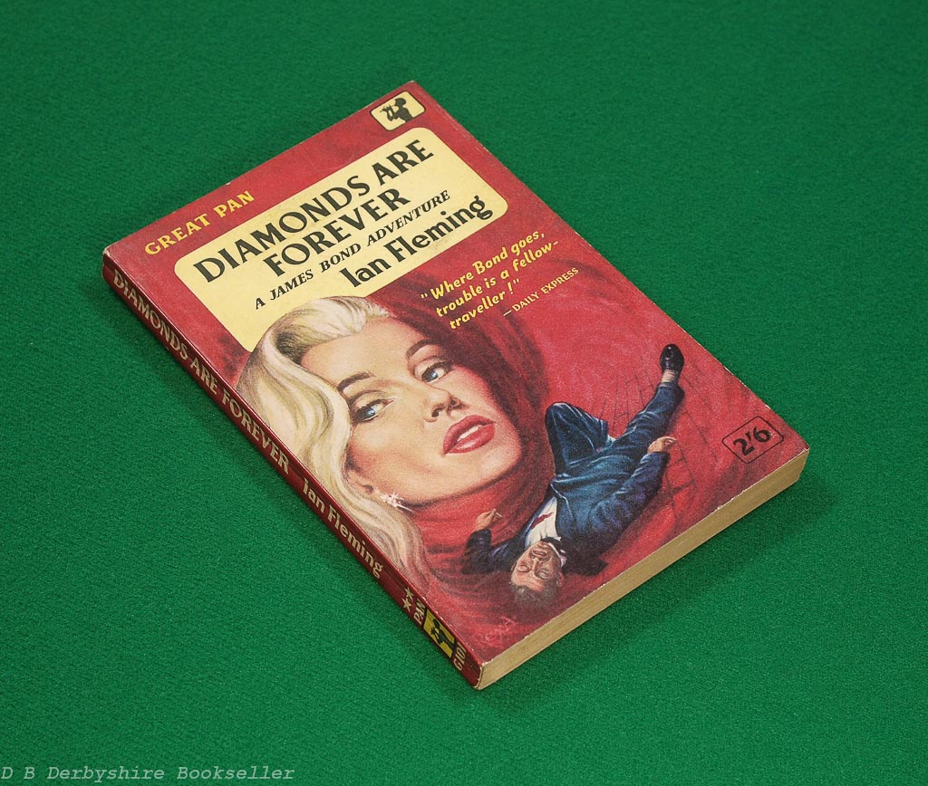 Diamonds Are Forever | Ian Fleming | Pan Books, 1959 | Great Pan