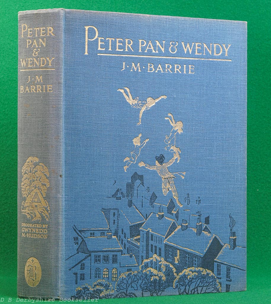 Peter Pan & Wendy by J. M. Barrie (Boots, circa 1931) | illustrated by Gwynedd M. Hudson