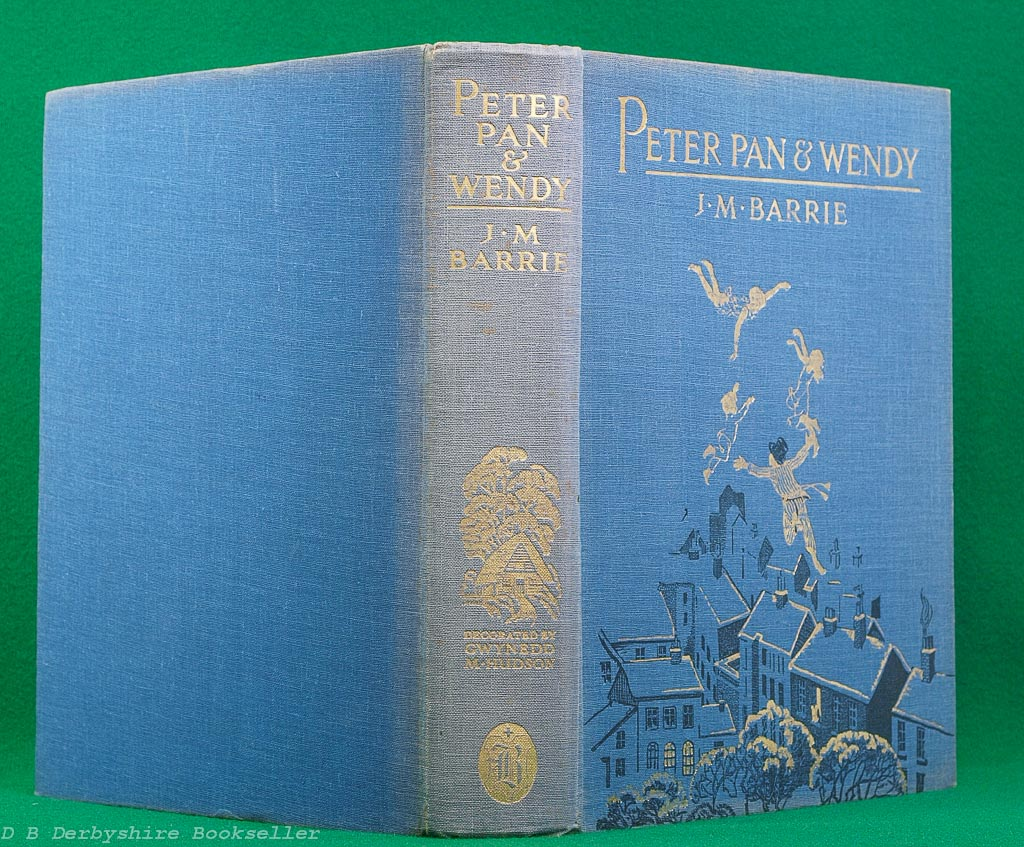 Peter Pan & Wendy | J. M. Barrie | Boots, circa 1931 | illustrated by Gwynedd M. Hudson