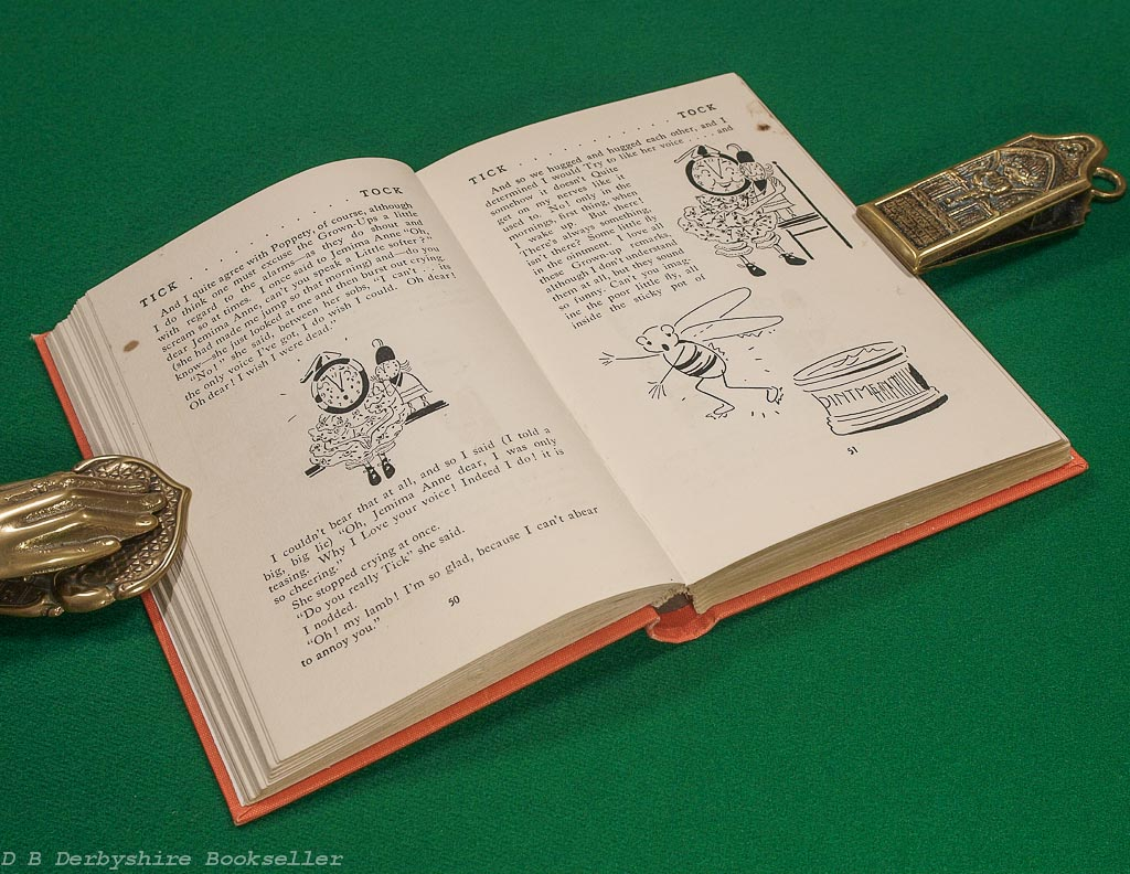 Tick-Tock | A Story of a Clock World | Fleur Charley | Heath Cranton, 1st edition 1937 | illustrated by Raine Inglis