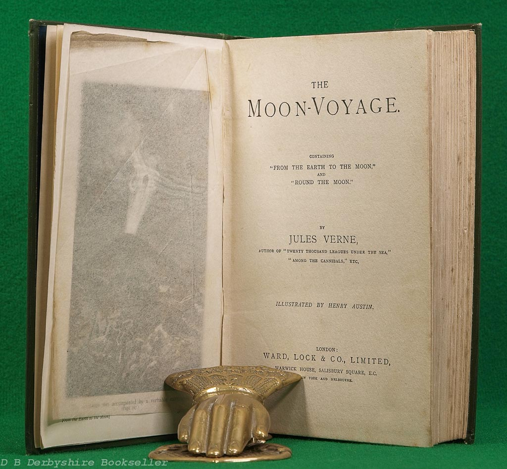 The Moon-Voyage | Jules Verne | Ward, Lock & Co., circa 1905 | illustrated by Henry Austin