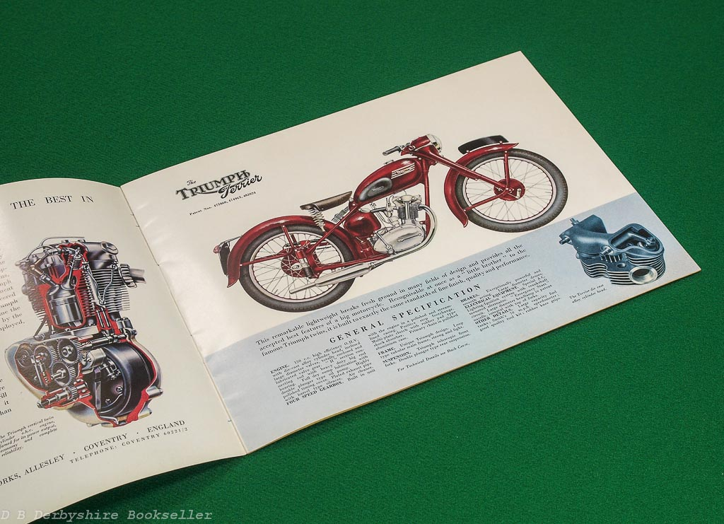 Triumph - The Best Motorcycle in the World | 1953 | Sales Brochure