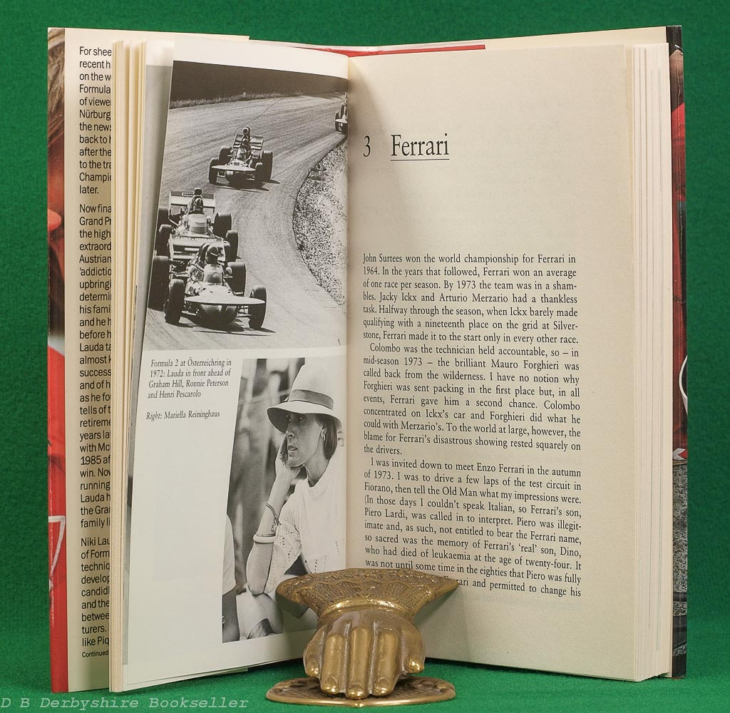 To Hell and Back | An Autobiography by Niki Lauda | Stanley Paul, 1st (UK) edition 1986