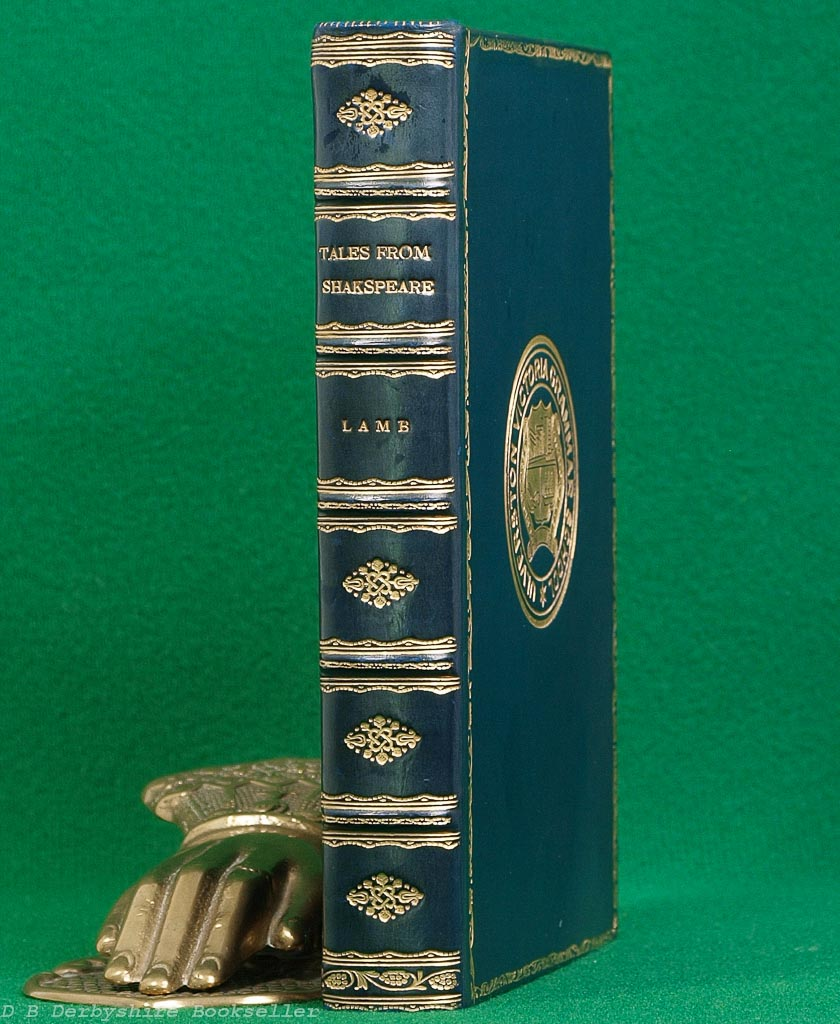Tales from Shakespeare by Charles and Mary Lamb (Macmillan, 1908) | Fine Leather Binding