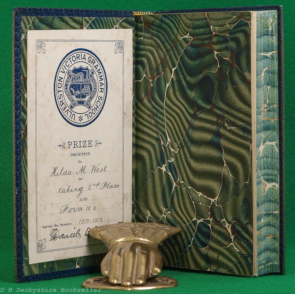 Hereward the Wake by Charles Kingsley (Macmillan, 1910) | Fine Leather Binding