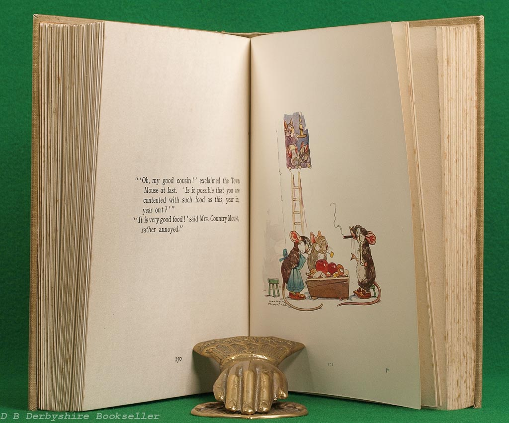Aesop's Fables   Blanche Winder   Ward Lock, circa 1930s   illustrated by Harry Rountree
