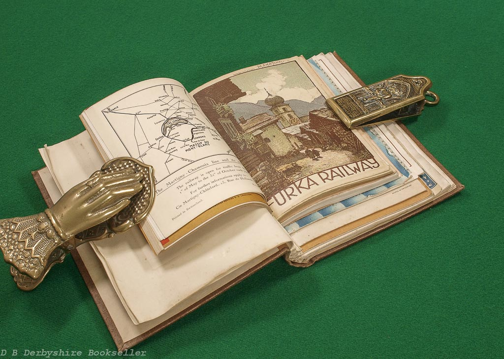 Switzerland Tourist Guides | 1920s | A Collection Bound in Two Volumes