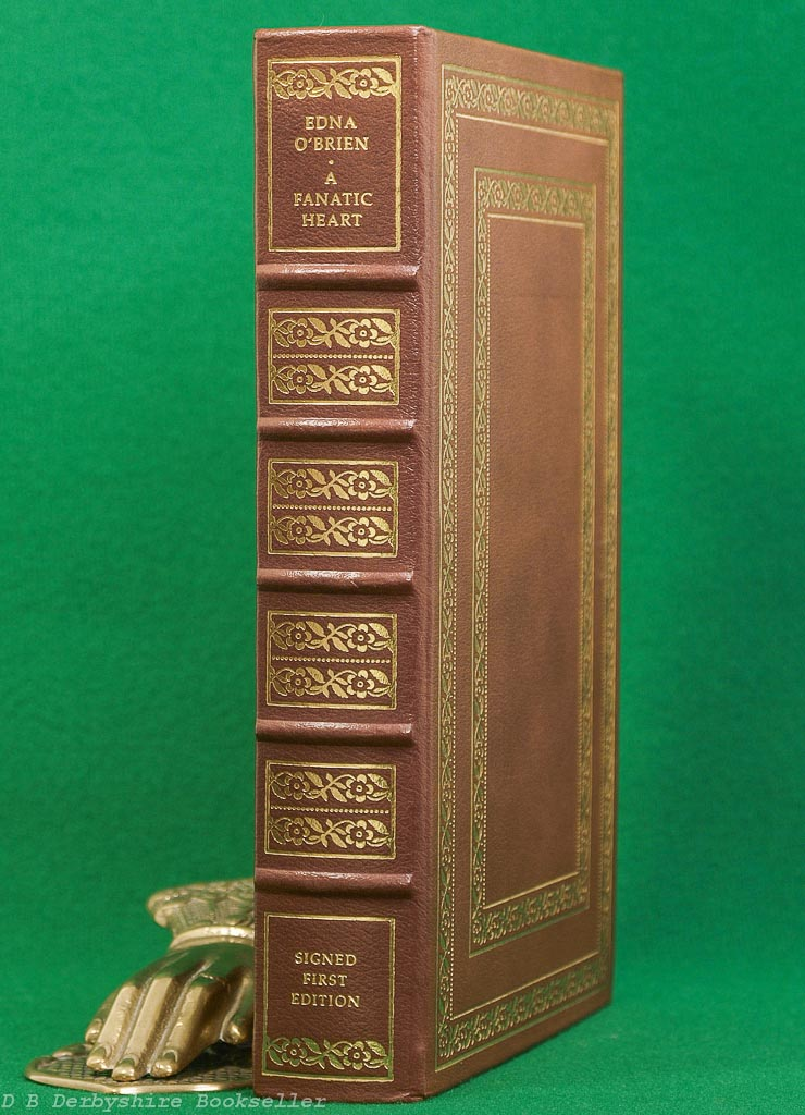 A Fanatic Heart | Edna O'Brien | Franklin Library, 1st edition 1984 | Leather Binding | Signed