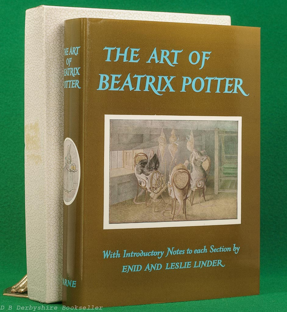The Art of Beatrix Potter | Enid and Leslie Linder | Warne, 1980 | with box