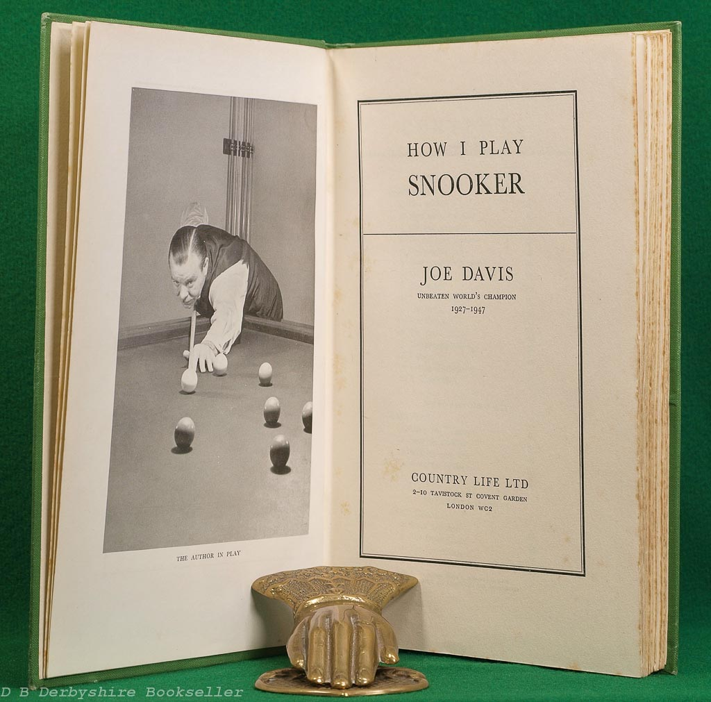 How I Play Snooker | Joe Davis | Country Life, 1949