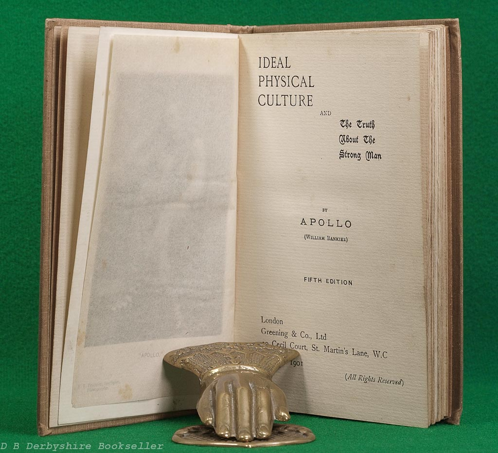 Ideal Physical Culture by Apollo | Greening & Co. Ltd, 1901 | William Bankier