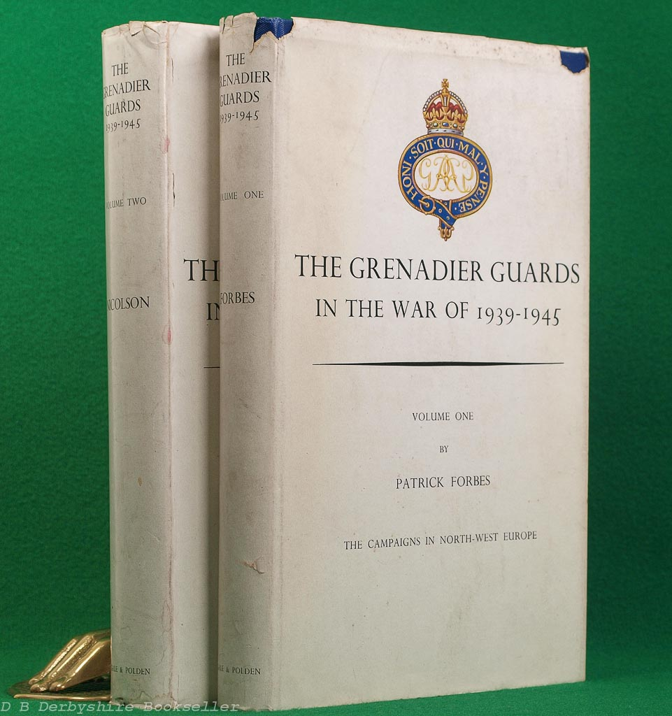 The Grenadier Guards in the War 1939-1945 | Gale and Polden, 1949 | Two Volumes