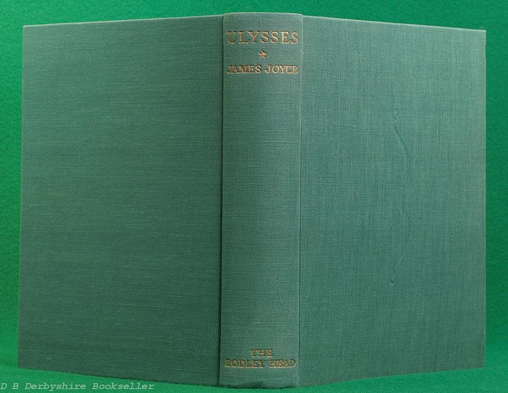 Ulysses   James Joyce   The Bodley Head, reprint 1952