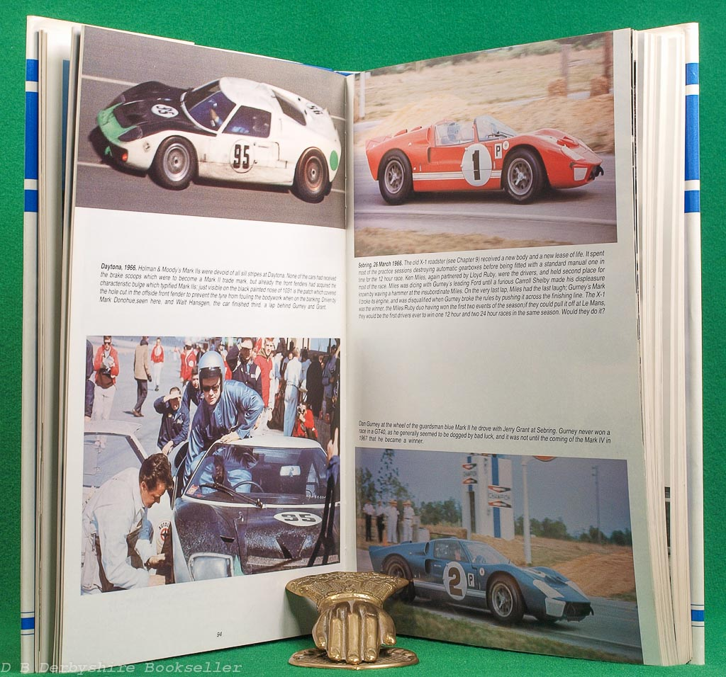 The Ford That Beat Ferrari | A Racing History of the GT40 | Gordon Jones and John Allen | Kimberley's, 1st edition 1985 | Signed Limited Edition