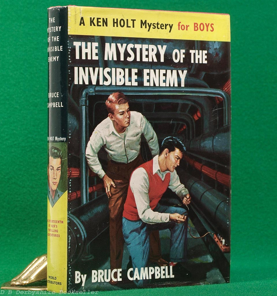 The Mystery of the Invisible Enemy | A Ken Holt Mystery