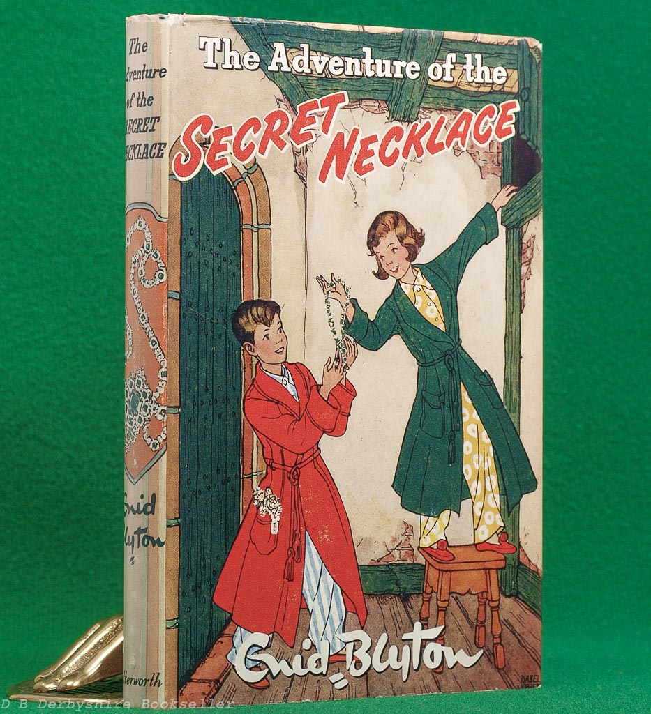 The Adventure of the Secret Necklace by Enid Blyton (Lutterworth, 1954)