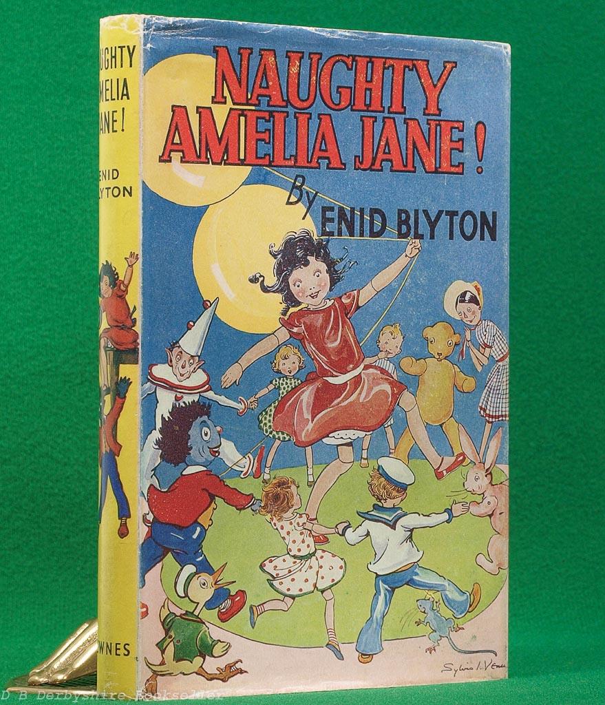 Naughty Amelia Jane! by Enid Blyton (Newnes, 1953)