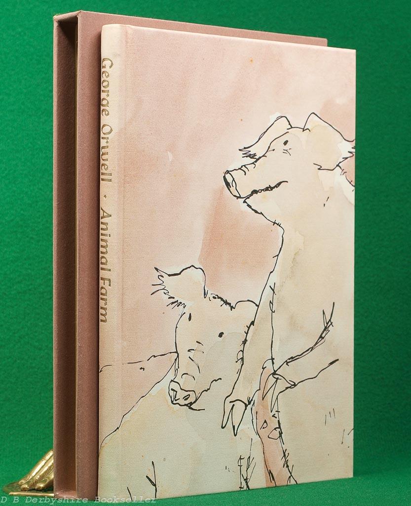 Animal Farm | George Orwell | Folio Society, 1992 | illustrated by Quentin Blake