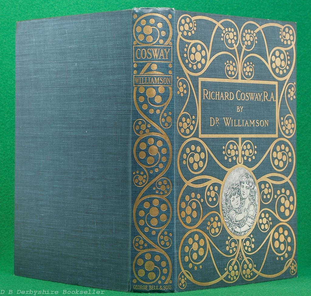 Richard Cosway   George C Williamson   George Bell, 1905   Decorative Cover by GMW