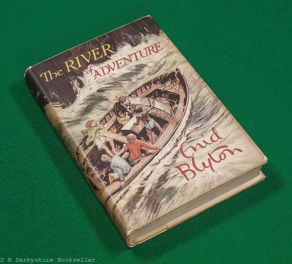 The River of Adventure by Enid Blyton (Macmillan, 1955)
