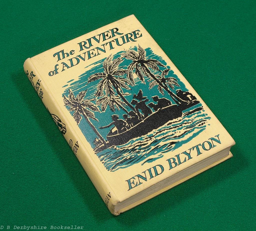 The River of Adventure | Enid Blyton | Macmillan, 1st edition 1955 | illustrated by Stuart Tresilian