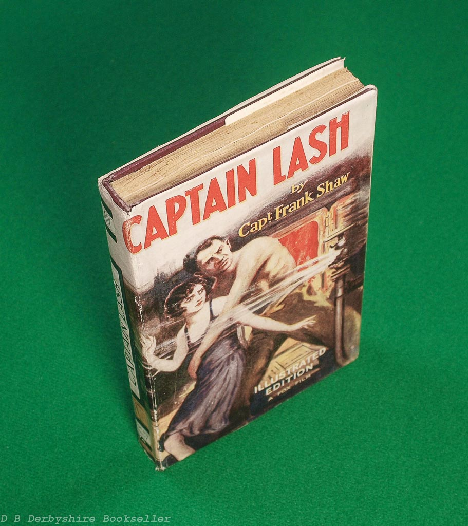Captain Lash | Frank H. Shaw | The Readers Library, circa 1929 | Illustrated Edition