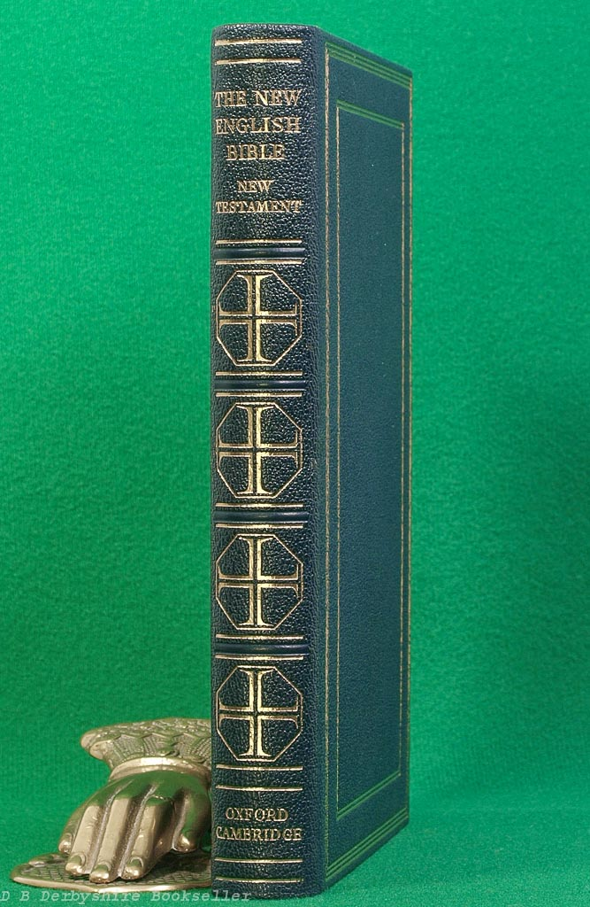 The New English Bible New Testament (Oxford/Cambridge, 1961) Full Leather Binding in Slipcase