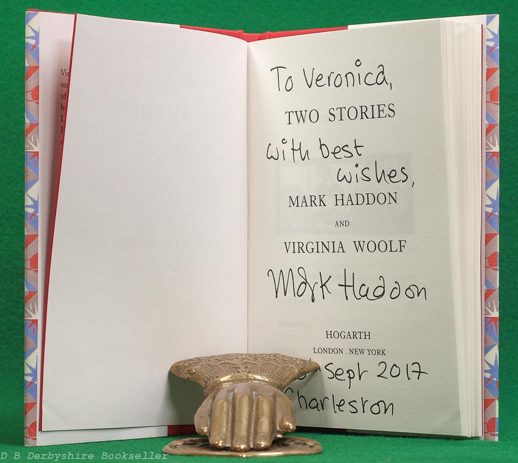 Two Stories | Virginia Woolf and Mark Haddon | Hogarth Press, 2017 | illustrations by Dora Carrington
