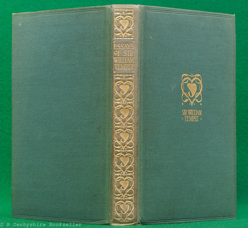 Essays by Sir Wiliam Temple | Gresham | Talwin Morris Binding
