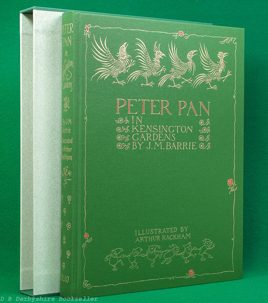 Peter Pan in Kensington Gardens | The Folio Society, 2004 | Custom Slipcase