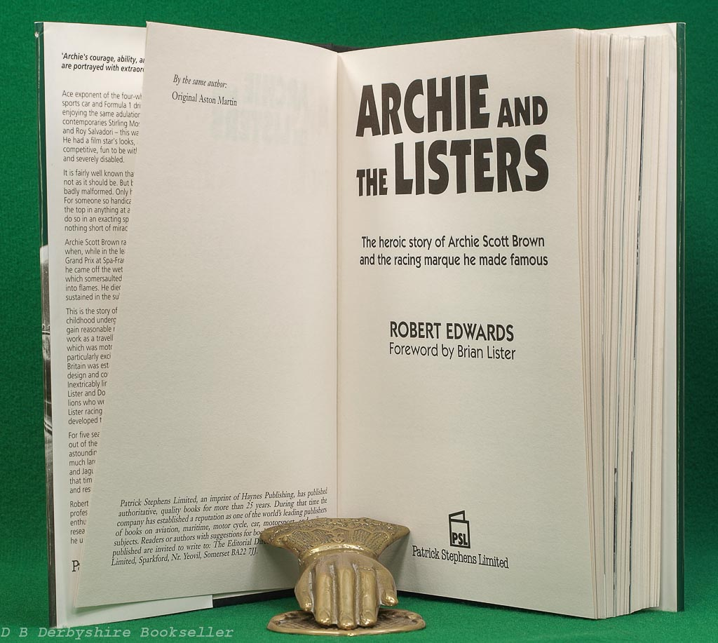 Archie and the Listers | Robert Edwards |PSL, 1st edition 1995