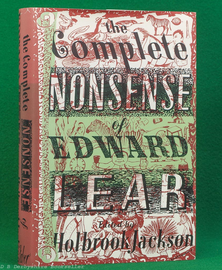 The Complete Nonsense of Edward Lear edited by Holbrook Jackson (Faber and Faber, 26th impression 2005)