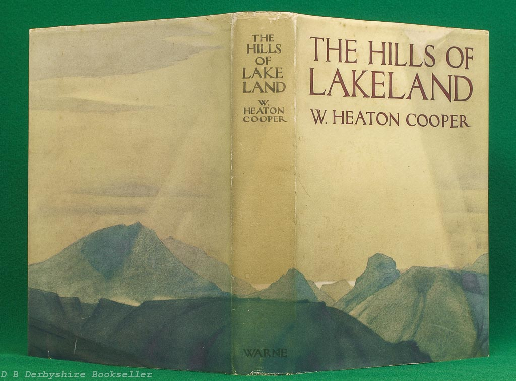 The Hills of Lakeland   W. Heaton Cooper   Warne, 1st edition 1938